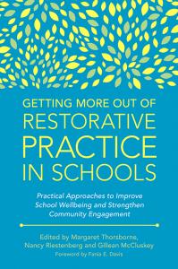 restorative practice in schools book cover